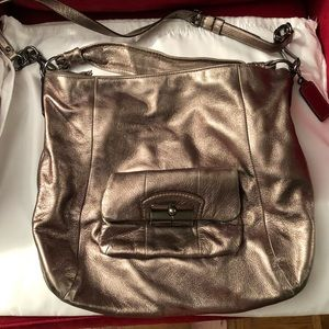Pre owned Coach Pewter Handbag